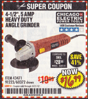 Harbor Freight 4-1/2