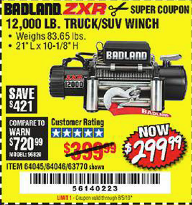 warn winch coupons