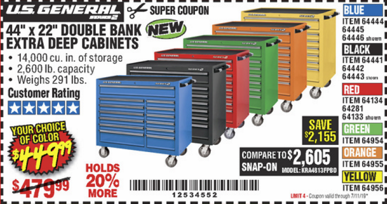 Harbor Freight 44