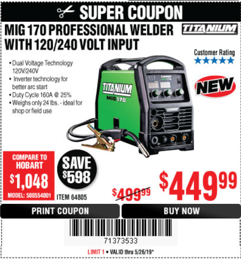 harbor freight welder coupon