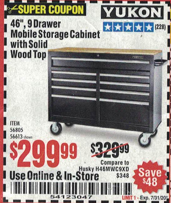 Harbor Freight Tools Coupon Database Storage Coupons