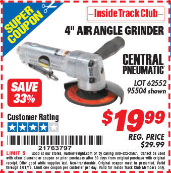 Harbor freight air angle grinder surebonder light tacker