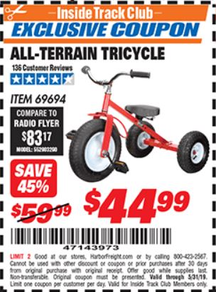 www.hfqpdb.com - ALL-TERRAIN TRICYCLE Lot No. 60652/69694