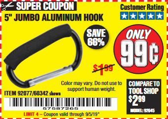 Harbor Freight 5