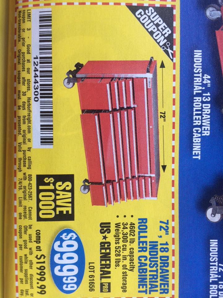 harbor freight tools coupon database - free coupons, 25 percent off ...