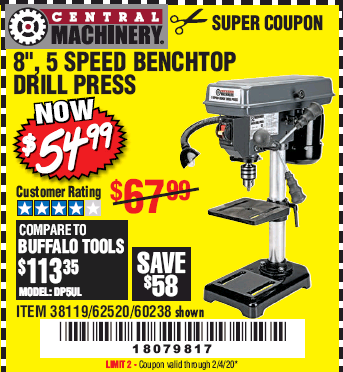 Harbor Freight 8