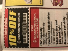 Harbor Freight Coupon 10 percent off coupon expires: 9/30/19