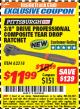 "Harbor Freight ITC Coupon 3/8"" DRIVE PROFESSIONAL COMPOSITE TEAR DROP RATCHET Lot No. 62318 Expired: 8/31/17 - $11.99"