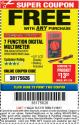 Harbor Freight FREE Coupon 7 FUNCTION DIGITAL MULTIMETER Lot No. 30756 Expired: 11/19/17 - FWP
