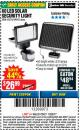 Harbor Freight Coupon 60 LED SOLAR SECURITY LIGHT Lot No. 60524/62534/56213/69643/93661 Expired: 11/22/17 - $26.99