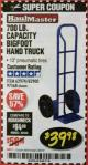 Harbor Freight Coupon BIGFOOT HAND TRUCK Lot No. 62974/62900/67568/97568 Expired: 2/28/18 - $39.98