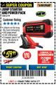 Harbor Freight Coupon LITHIUM ION JUMP STARTER AND POWER PACK Lot No. 62749/64412 Expired: 10/31/17 - $59.99