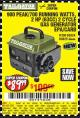Harbor Freight Coupon 900 PEAK / 700 RUNNING WATTS, 2HP (63CC) 2 CYCLE GAS GENERATOR EPA/CARB Lot No. 63024/63025 Expired: 7/1/17 - $89.99
