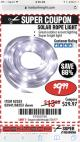 Harbor Freight Coupon SOLAR ROPE LIGHT Lot No. 68353/62533/63941/64625 Expired: 7/31/17 - $9.99