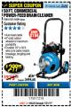Harbor Freight Coupon 50 FT. COMMERCIAL POWER-FEED DRAIN CLEANER Lot No. 68284/61857 Expired: 7/31/17 - $299.99