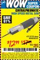 Harbor Freight Coupon HIGH SPEED METAL SAW Lot No. 60568/62541/91753 Expired: 9/29/15 - $12.99
