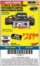 Harbor Freight ITC Coupon BADLAND ZXR12000 12000 LB. OFF-ROAD VEHICLE ELECTRIC WINCH WITH AUTOMATIC LOAD-HOLDING BRAKE Lot No. 64045/64046/63770 Expired: 3/8/18 - $289.99
