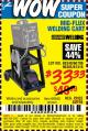 Harbor Freight Coupon MIG-FLUX WELDING CART Lot No. 69340/60790/90305/61316 Expired: 7/27/15 - $33.33