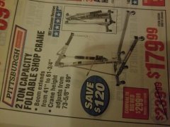 Harbor Freight Coupon $10 OFF ANY BAUER OUTDOOR TOOL Lot No. 64941,64996,64995,64940,64942 Expired: 10/3/19 - $6.99