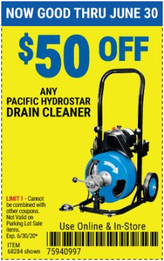 Harbor Freight Coupon 50 percent off coupon expires: 6/30/20