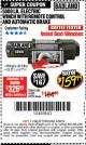 Harbor Freight Coupon 5000 LB. ELECTRIC WINCH WITH REMOTE CONTROL AND AUTOMATIC BRAKE Lot No. 68144/61384/61605 Expired: 4/30/18 - $159.99