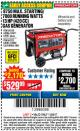 Harbor Freight Coupon 8750 PEAK / 7000 RUNNING WATTS 13 HP (420 CC) GAS GENERATOR Lot No. 68530/63086/63085/56169/56171/69671/68525/63087/63088/56168/56170 Expired: 11/22/17 - $529.99
