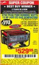 Harbor Freight Coupon 8750 PEAK / 7000 RUNNING WATTS 13 HP (420 CC) GAS GENERATOR Lot No. 68530/63086/63085/56169/56171/69671/68525/63087/63088/56168/56170 Expired: 7/15/15 - $529.99
