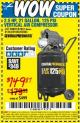 Harbor Freight Coupon 2.5 HP, 21 GALLON 125 PSI VERTICAL AIR COMPRESSOR Lot No. 67847/61454/61693/69091/62803/63635 Expired: 5/19/16 - $149.87