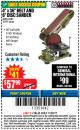 "Harbor Freight Coupon 4"" X 36"" BELT/6"" DISC SANDER Lot No. 64778/97181/5154 Expired: 11/22/17 - $57.99"