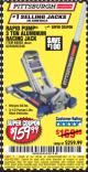 Harbor Freight Coupon RAPID PUMP 3 TON ALUMINUM RACING JACK Lot No. 68052/61386/62248/62530 Expired: 6/25/17 - $159.99